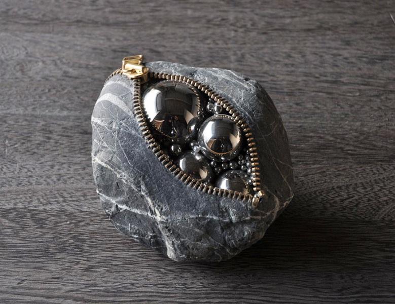 creative stone sculptures hirotoshi ito
