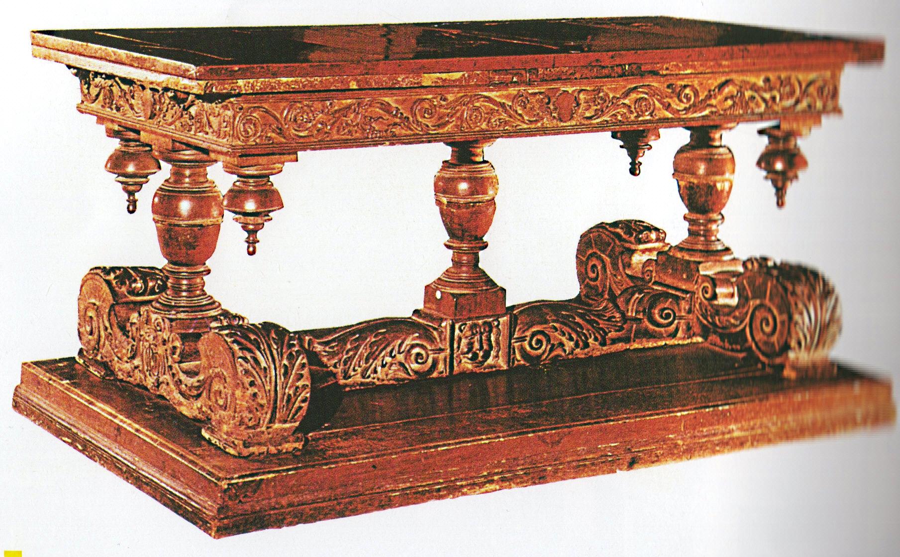 L 39 arredamento nel 1600 il barocco italiano affascinarte for Centro italiano mobili