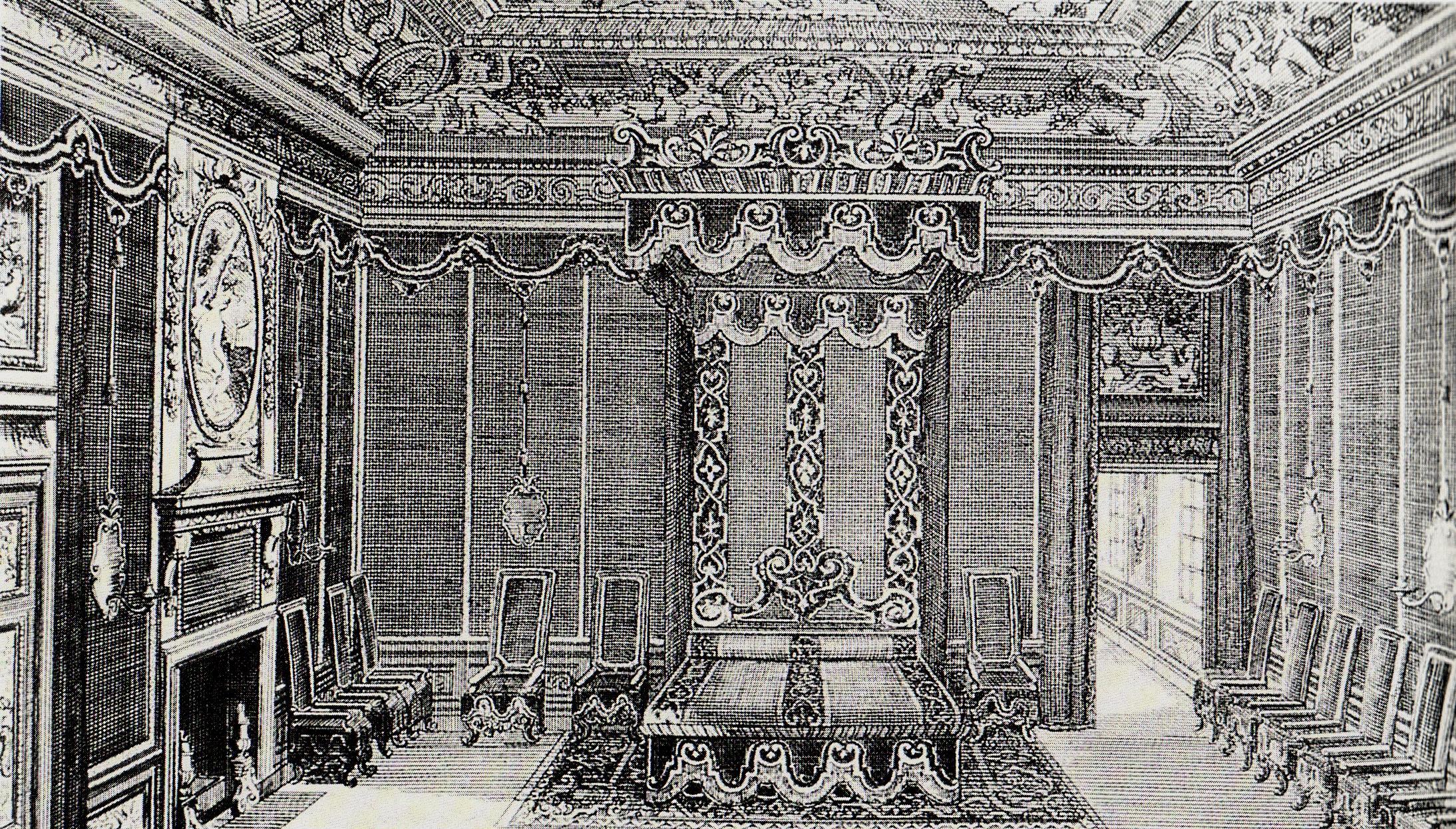 Vivere nel 1600 il barocco francese stile luigi xiv affascinarte - Posto letto parigi ...